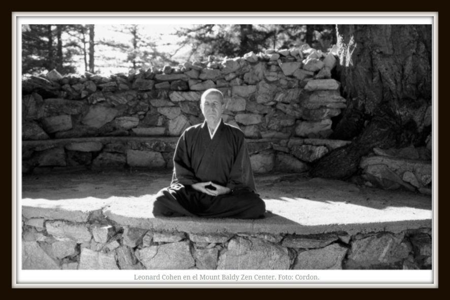 leonard cohen meditando